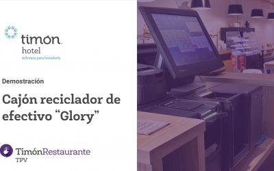 Integración del cajón reciclador de efectivo Glory con Timón TPV Restaurante